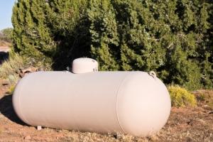 hiding your propane tank